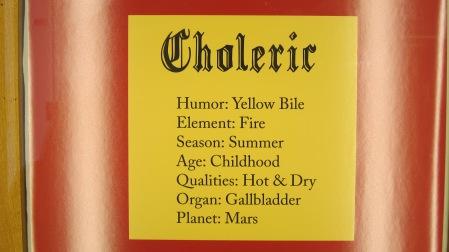 Choleric