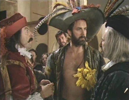 John Cleese as Petruchio